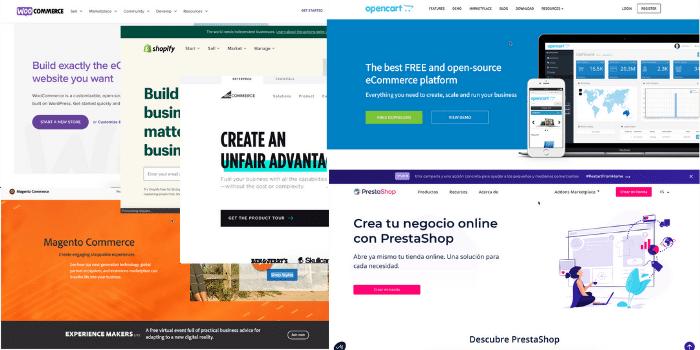 mejor cms para crear una tienda online 2020